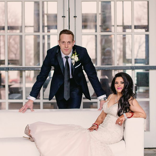 Indian bride and Canadian groom - Mixed race wedding - Arora Events, Toronto's best wedding and event planners!
