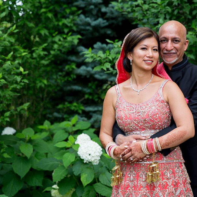 Indian groom and Chinese bride - Arora Events, Toronto's best wedding and event planners!